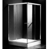 Buy cheap Single Rectangular Shower Cubicles , 1000 X 800 Two Sided Glass Shower Enclosure from wholesalers