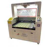 Wholesale Laser cutting machine for Label Logo Trademark irregular label, printed label, electronic panel, mask, textile brand, wo from china suppliers