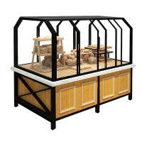 China 3 Years Warranty Food Store Shelving Bakery Display Shelves For Cake on sale