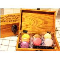 Wholesale Solid  Handmade Wooden Tea Bag Box Colorful Lacquer With Compartments from china suppliers