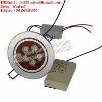 Wholesale XF brand new LED lights lamp camera with long distance for marked cards and backside marking cards playing poker from china suppliers