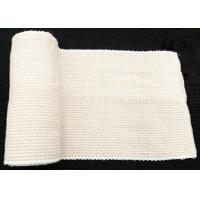 China Latex Free Elastic Bandage Wrap Comfortable Polyester Spandex Material on sale