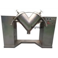 Wholesale Small Food Industry Dry Spice Powder 45kw V Shaped Mixer Machine from china suppliers