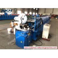 China Octagon Pipe Shutter Door Roll Forming Machine With PLC Computer Control System on sale