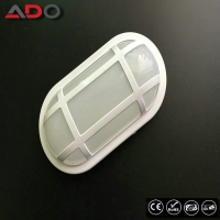 Wholesale IK09 Oval White Aluminum 24W PP 2400LM LED Bulkhead Lamp from china suppliers
