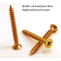 Wholesale Coarse Or Fine Thread Chipboard Flooring Screws , Self Tapping Sheet Metal Screws from china suppliers
