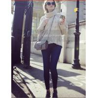 Buy cheap Gray Long Sleeve Turtleneck Pullover Women Fall Winter Warm New Design Loose from wholesalers