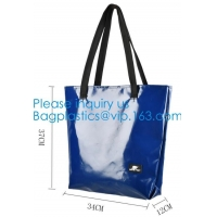 Wholesale 1000D Waterproof PVC Tarpaulin Customized Shopping Bag, Daily Women Shoulder Tote Bags Wholesale Price from china suppliers