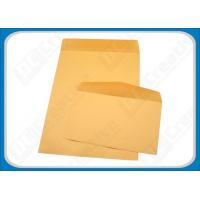 Buy cheap Printing Wallet Self-seal Rigid Mailing Envelopes , Business Mailing Envelopes C4 from wholesalers