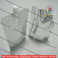 Wholesale Aluminum Foil Plain Spout Pouch Packaging With Cap from china suppliers