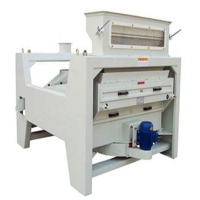 STR TQLM rice paddy cleaner and destoner machine with low noise