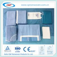 Wholesale surgical disposable sterile factory price Laparotomy drape pack from china suppliers