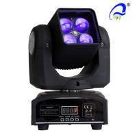 Wholesale 4 Pcs 15W 4 In 1 Osram LED Moving Head Zoom LED Disco Light DMX512 AC100 - 240V from china suppliers