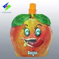 Wholesale fruit shape bags, stand up bag with spout, liquid pouch,jelly packaging,can up to 13 colors from china suppliers