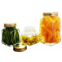 Wholesale Safe Hygienic Glass Canning Jars Glass Food Storage Jars For Dried Fruits from china suppliers