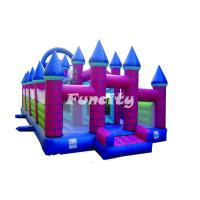 Wholesale Guard Castle Inflatable Bouncy Castle For Kids Holding Party / Having Fun from china suppliers