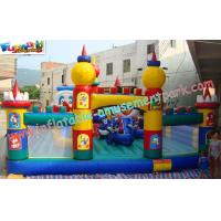 Wholesale OEM Safety Inflatable Amusement Park Play Structures 14L x 7W x 5H Meter from china suppliers
