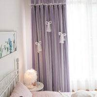 Buy cheap 110inch Blackout Plain Cotton Curtain poly cotton lining fabric from wholesalers