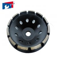 China Alloy Base Segmented Grinding Wheels , Diamond Grinding Wheel For Stone on sale