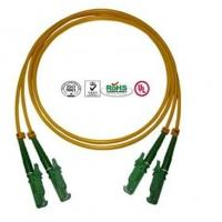 Wholesale 0.9mm PVC E2000 Fiber Optic Patch Cables Single Mode Double Cores from china suppliers