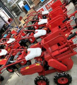 Buy cheap 10HP Farming Machinary Walk Behind Diesel Mini Corn Harvester from wholesalers