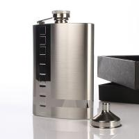 China stainless steel hip flask. on sale
