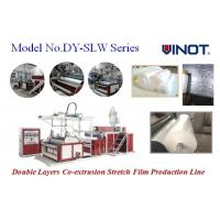 Buy cheap Vinot Manufacturer PLA Stretch Film Machine for 1 - 3 Layers with  Red Color  Model No. SLW-1000 from wholesalers