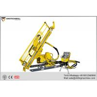 China Deep Hole Hydraulic Underground Core Drill Rig With PQ & HQ Max Rod Size 160Cc Rotation Motor on sale