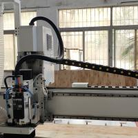 China CC Spindle CNC Wood Cutting Machine , Steel Material Cnc Router Machine For Wood on sale