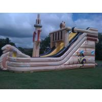 Wholesale Outdoor Inflatable Theme Park , Inflatable Fairground For Kids from china suppliers