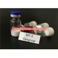 Wholesale Health Muscle Buidling Steroids Hot Sale Legit Peptide Melanotan-2, Mt-2, Melanotan II CAS: 121062-08-6 2mg/vial for Mus from china suppliers