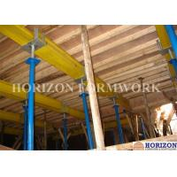 Buy cheap Q235 Steel Pipe Adjustable Telescopic Steel Props 3.5 M Height For Slab Formwork from wholesalers