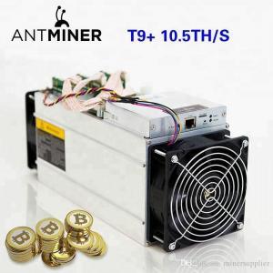 Bitcoin Farming Machine Bitmain Antminer T9+ (10.5Th) From SHA-256 Algorithm