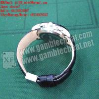 Wholesale XF leather strap watch camera for poker analyzer from china suppliers