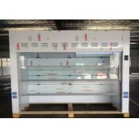 Wholesale White PP Hood For Chemical Laboratory , Lab Fume Hood 800mm Width Floor Mounted from china suppliers