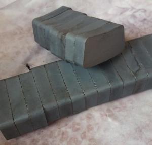 Wholesale Custom Arc Curve Shape C5 Grade Navigation Light Ferrite Motor Magnet from china suppliers