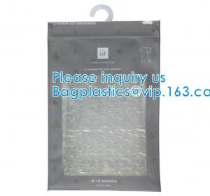 Wholesale BiodegradableHanger Bag With Zip Lock On The Top, Frosted K Bag Hanger Bag For Clothes, EVA Frost Drawstring Bag from china suppliers