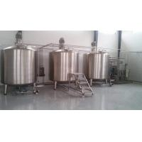 Wholesale Stainless Steel Buffer Tank / Jacketed Stainless Steel Tank Corrosion Resistant from china suppliers