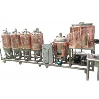 China CE / ISO Certification Small Brewery Equipment 1BBL Semi - Auto Control SUS304 on sale