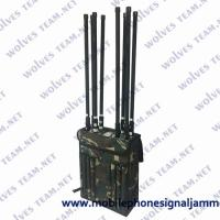 Buy cheap VIP Protection Security Backpack Jammer GPS WIFI High Gain Omni Directional from wholesalers