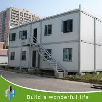 Wholesale flat pack container house hot sale combined house container from china suppliers