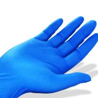 Wholesale Nitrile Butadiene Rubber Disposable Medical Gloves , Disposable Surgical Rubber Gloves from china suppliers