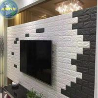 Wholesale XPE Wallpaper Home Decoration Wall paper 3D Living Room and TV Background Wallcovering from china suppliers