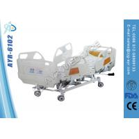 China 220v Or 110v Electric ICU Hospital Beds With Center Locking System on sale