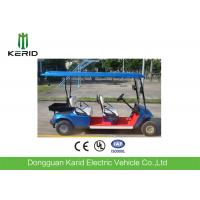 China Optional Color 48V Battery Electric Golf Carts Riding Comfort Cheap Electric 4 Seater Club Cars on sale