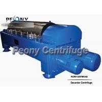 Buy cheap Low Speed Automatic Balance Decanter Centrifuge For Waste Water from wholesalers