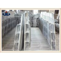 China Safe 4 Foot Wide Scaffolding Tubular Steel Frame Scaffolding 2.0mm Thickness on sale