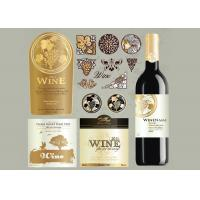 Wholesale Antarctic White Paper Type Custom Wine Labels Matte Varnishing Surface Finishing from china suppliers