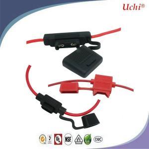 China Uk Plug Automotive Auto Blade Fuse Car Blade FuAse Holder N Nickel Plating on sale