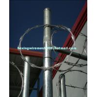 Wholesale hot dip galvanized single coil razor blade wire from china suppliers
